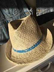 GAPギャップ麦わら帽子L。キムタクシャツニットカーディガン