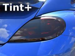 Tint+何度も貼れるVWザ・ビートル16CBZ系 テールランプ スモークフィルム
