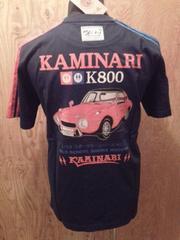 新作/カミナリ雷/Tシャツ/ヨタハチ/黒/XL/KMT-62/エフ商会/テッドマン/東洋