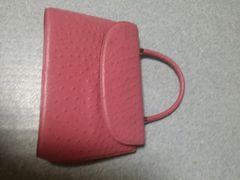 美品♪春色ピンク★ハンドバッグ