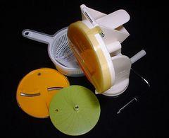 回転式調理器ベジタブルカッター/手動でらくらくグルグル