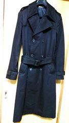 国内正規 良 激レア Dior Homme ディオールオム トレンチコート黒 ロングコート 40P