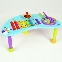 【未使用】ボイキド パーカッションテーブル 音楽 知育玩具