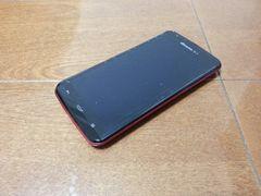 即落/即発!!新品未使用 SH-06E AQUOS PHONE ZETA レッド