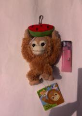 新品☆未使用♪Baby cocoフルーツマスコット キーホルダー(猿.さる.サル)再値下