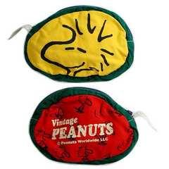 ブーフーウー/タグ付き未使用ウッドストックポーチ/peanuts