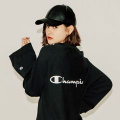 EMODA�~Champion REVERSE WEAVE RAGLAN SLEEVE �X�E�F�b�g