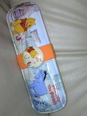 【美品質】くまのプーさん/ディズニー☆缶ペンケース