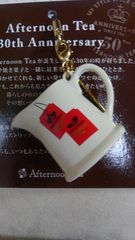 Afternoon Tea 30th Anniversary ノベルティ