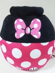 Disney/ミニーマウス壺型ぬいぐるみ収納☆お片付けに