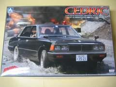 アオシマ 1/24 西部警察 No.10 430セドリックセダン 覆面パトロールカー 新品