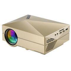 LEDプロジェクター◆ HDMI端子 ・スピーカー内蔵・電源内蔵
