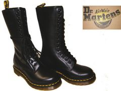 ドクターマーチンDrMartens14ホール ブーツ1914W ブラックuk5
