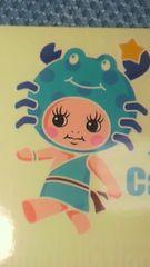 キューピーちゃん ホロスコープ☆ 蟹座シール 5枚