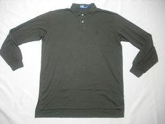 00 男 POLO RALPH LAUREN ラルフローレン 長袖ポロシャツ XL