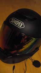 <SHOEI>自動二輪車ヘルメットブラック約Mサイズ美品レベル25000円