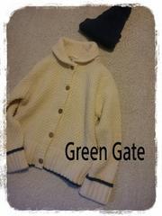 Green Gate wool ���̎q�҂݃J�[�f�B�K�� �r