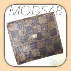 ◆ヴィトン◆USED良好◆ダミエ◆Wホック財布