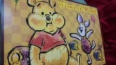 新品☆DisneyWinnie the Poohジャンボバスタオルプーピグレット大きいサイズ