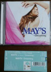 (CD)MAY'S/メイズ☆Dreaming★帯付き♪即決アリ♪