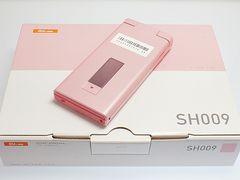◆安心保証◆新品即決◆au SH009 フローラルピンク◆白ロム