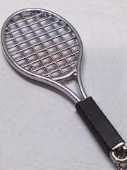 キーホルダー テニスラケット テニスボール セット