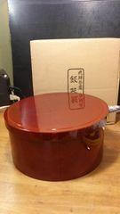 飛騨春慶。飯器。未使用。