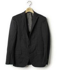 ユナイテッドアローズ 2B ウール ストライプ スーツ/メンズ/44