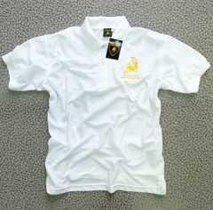 ◆送料無料◆《 ランボルギーニ 》★ポロシャツ 半袖★WHITE*XL
