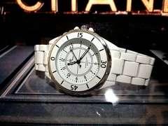 シャネルJ12インスパイアmavymaison正規品腕時計キムタクexile