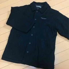 新品◆ジュンコ コシノ◆中綿入りハーフコート◆130ブラック