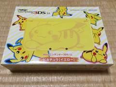 new NINTENDO 3DS.LLピカチュウ(イエロー)新品未開封!送料込み