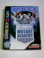 ■GBC X-MENミュータントアカデミー■箱説付ゲームボーイカラーアメコミエックスメン対戦格闘