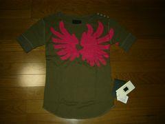 新品ドレスキャンプDRESSCAMPカットソー46サーマル調Tシャツ