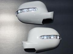 LEDウィンカーミラーカバー W163 純正交換タイプ白