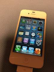 iPhone4 16GB WH 激安 ジャンク
