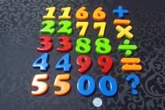 123/数字マグネット/算数/遊びながら勉強/26点