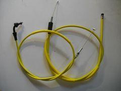 (2005C)GSX450EザリGSX400EザリGSX250Eザリ15cm黄色ロングワイヤーセット