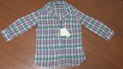 ☆新品タグ付き Avail 7分袖 チェックシャツ☆Mサイズ