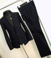 883-3■新品Lトルネードマート3ピースドレススーツ紺