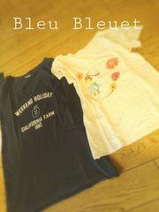 Bleu Bleuet トップス2枚set