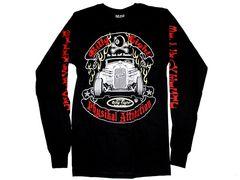 ビリヤード バイカー系 ロングTシャツ 海外Mサイズ 9
