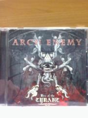 ARCH ENEMYRise Of The Tyrantア-クエネミ-ライズオブザタイラント