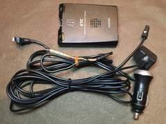 軽自動車登録 シガーソケット仕様 デンソー  ETC 音声 分離型