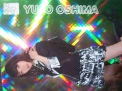 何か表面がキラキラしたAKB48時代の大島優子トレカ