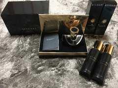 【新品】BVLGARI JasminNoir限定香水ジェル/ローションset売り
