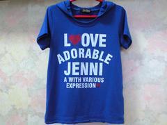 ジェニィ/JENNI☆フード付きTシャツ☆140/ブルー