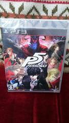 PS3 新品 ペルソナ5 即決