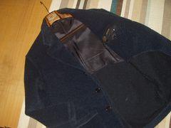 SERGIO PELLARI モヘア混 アンコンジャケット 46 イタリー製