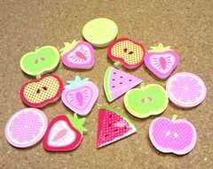 プラデコパーツ 14個フルーツ